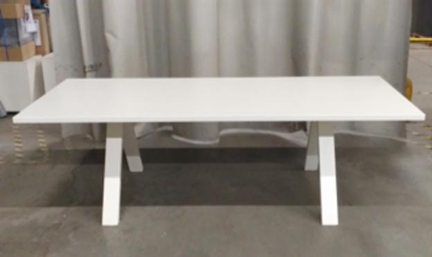 Image de 2ème chance - table de conférence en métal