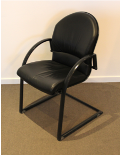 Image de 2ème chance - Chaise de conférence en cuir