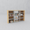 Afbeeldingen van Mrs Cloak - Shelves - type 5