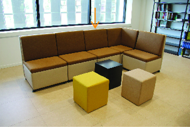 Image de Mr Couch Large Low Seat