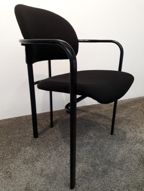 Image de 2ème chance - chaise de conférence noire
